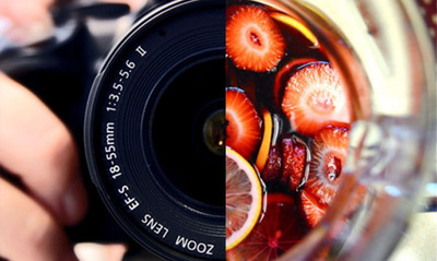 Photography and Sangria