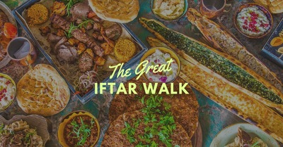 The Great Iftar Food Walk With Aslam Gafoor