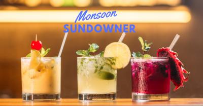 The Monsoon Sundowner