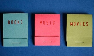 Books, Music, Movies