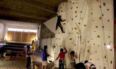 Floh Pop-Up: Rock Climbing at Delhi Rock