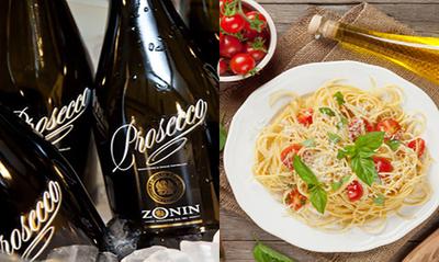 Black Straw Sparkling Wine and An Italian Affair
