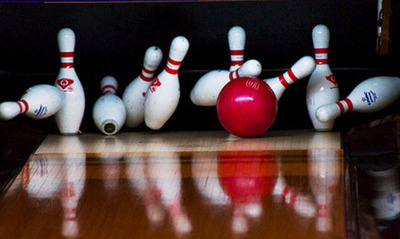 Ten Pins and a Strike!