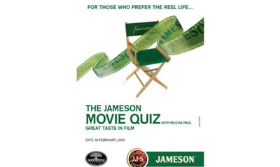 Presenting The Jameson Hollywood Quiz