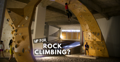 Up For Rock Climbing?