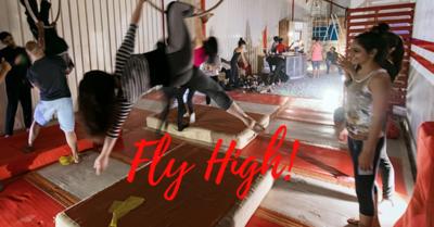 Fly High Or Rock Climb!